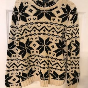 Ralph Lauren cotton holiday sweater